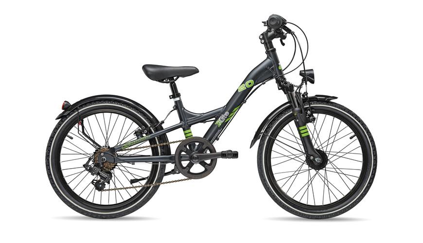 s'cool XXlite comp 20-7 - Bicicletas para niños - negro